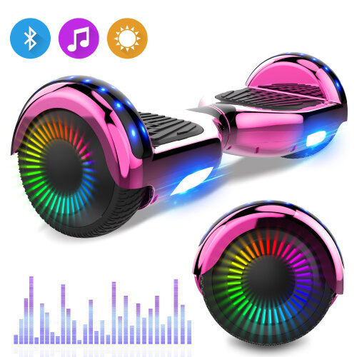 Right Choice Hoverboard With LED Wheels | Wide Tyre Hoverboard