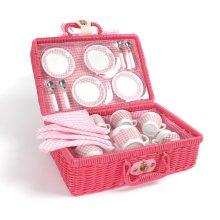 Tidlo Picnic Tea Set With Hamper Basket
