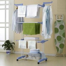 Foldable Extra-Large 3 Tier Clothes Airer & Laundry Dryer