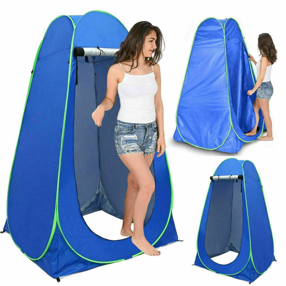 PORTABLE POP UP TENT OUTDOOR CAMPING TOILET SHOWER INSTANT PRIVACY ROOM UK STOCK