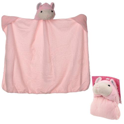 Plush Pink Llamapalooza Wearable Blanket