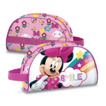 pen case Minnie Mouse girls 25 x 15 cm polyester pink