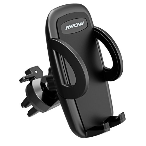 Air Vent Phone Holder, Mpow Universal Car Phone Mount with 3-level Adjustable Clamp Cars Holder 360° Rotation In Car Mount Car Cradle for iPhone X...