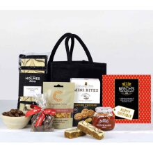 Birthday Gift Bag Hamper with Happy Birthday Chocolates - Food Gifts and Luxury Hampers