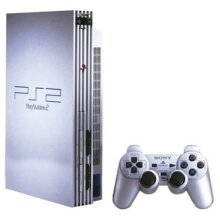 Sony   playstation ps2 console silver - Used