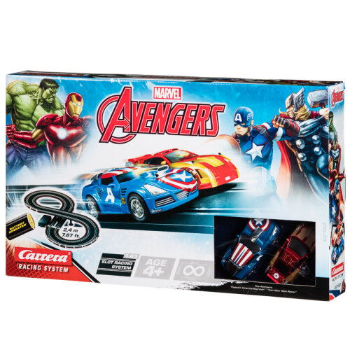 Marvel Avengers Track Set Carrera Racing System