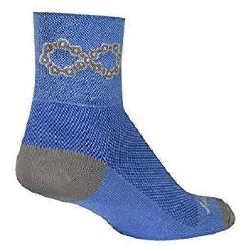 "Socks - Sockguy - Classic 3"" - Infinite L/XL Cycling/Running"