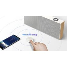 Samsung AKG by Harman VL5 Wireless Smart Speaker in White Amazon Alexa Compatible