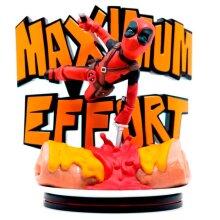 Figure diorama Maximum Effort Deadpool Marvel 14cm