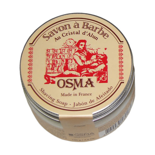 Osma Alum Shaving Soap 100g
