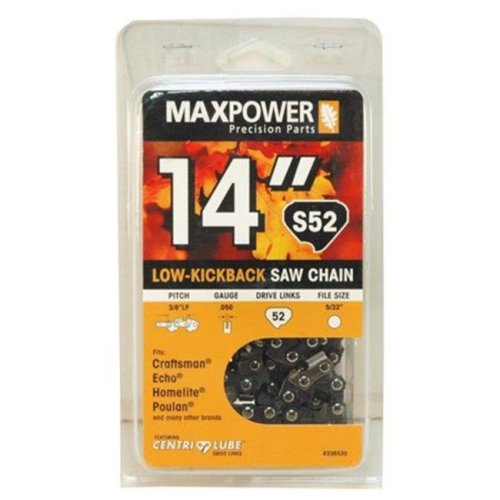 Maxpower 336530N 14 in. Replacement Chainsaw Chain