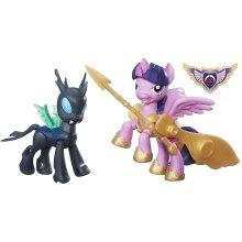 MY LITTLE PONY B7297EL20 'Guardians of Harmony Princess Twilight Sparkle V. Changeling' Figure