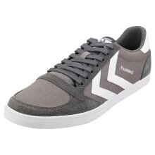 hummel Slimmer Stadil Low Mens Casual Trainers in Grey White - 11 UK