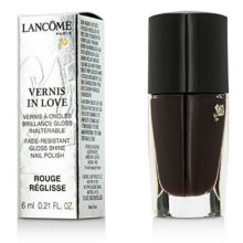 NEW Lancome Vernis in Love Gloss Shine Nail Polish 473N Rouge Reglisse