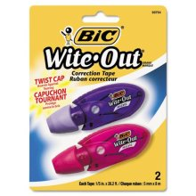 BICWOMTP21 BIC Wite Out Mini Twist Correction Tape