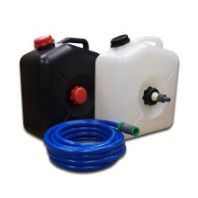 Waste & Water Container 23 with Water Adaptor and 10m Food Grade Hose