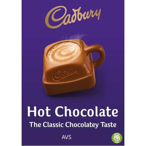 73mm incup Cadburys hot chocolate drink for in cup vending machine