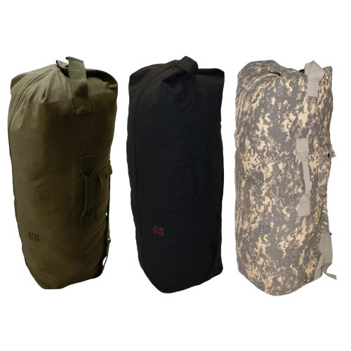 NEW US ARMY STYLE Duffle Bag Olive Green