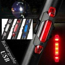 LED Bike Tail Light Bicycle Rear Warning Signal Lamp