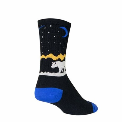 "Socks - Sockguy - 6"" Wool Crew Alaska L/XL Cycling/Running"
