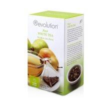 Revolution Tea - Pear White Tea   Premium Full Leaf Infuser Stringless Teabags - Antioxidant Boost (16 Bags)
