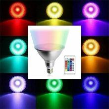 Dimmable RGB PAR30 PAR38 E27 10W 20W LED Spotlight Bulb Flood Lamp + Remote