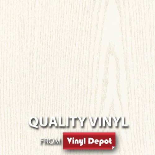 d-c-fix Sticky Self-Adhesive Wood Vinyl Fablon Pearlwood White 450mm/m