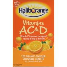 Haliborange Kids A, C and D Orange tablets 120