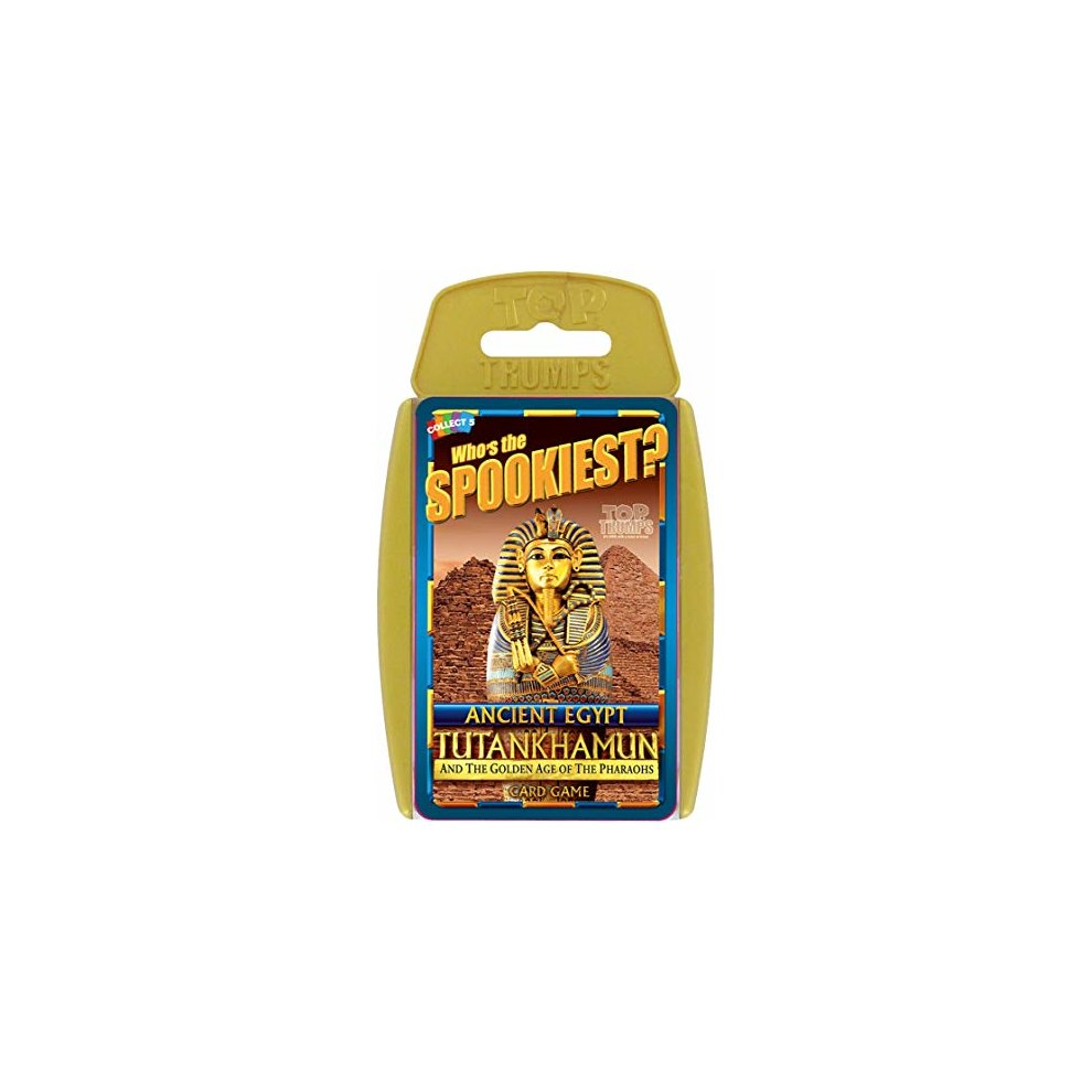 Top Trumps Ancient Egypt Card Game - Tutankhamun and the Golden Age of the Pharaohs