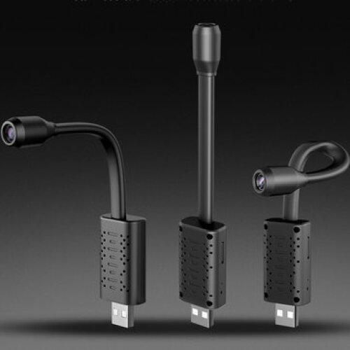 U21 4K WIFI USB Camera Real-time Surveillance Motion Detect 160° IP Camera