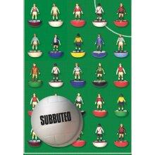 Subbuteo Football gift wrap