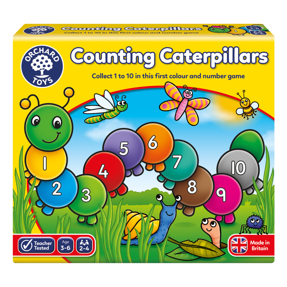 Orchard Toys Game Counting Caterpillars