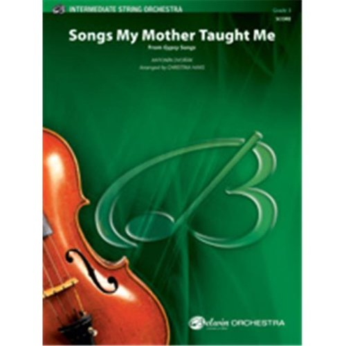 Alfred 00-35915 SONGS MY MOTHER TAUGHT ME-BIS SET4D