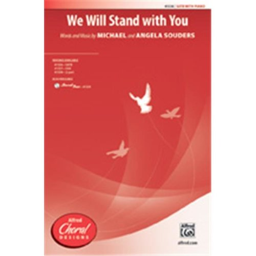 Alfred 00-41539 WE WILL STAND WITH YOU-STRX CD