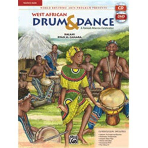 Alfred 00-24451 WEST AFRICAN DRUM-TCHBK&CD&DVD