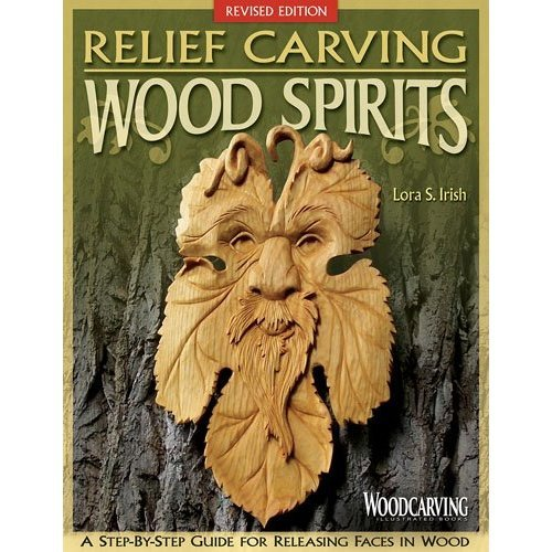 Relief carving wood spirits: A step-by-step guide for releasing faces in wood
