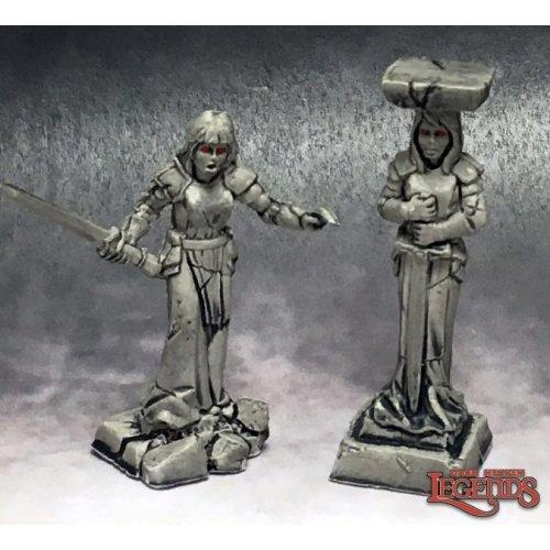 Reaper Dark Heaven Legends 03770 Caryatid Columns
