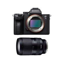 Sony A7 III camera, Tamron 28-200mm F2.8-5.6 DI III RXD lens & Sony E mount kit