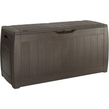 Keter Hollywood Patio Storage Box Outdoor Garden Furniture