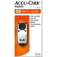 Accu-Chek Mobile 50 Tests Blood Glucose Meter Cassette