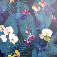 Arthouse Artistick Pindorama Navy Floral Wallpaper Peel and Stick Self Adhesive