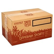 Tate & Lyle Demerara Sugar Sticks 1000 -approx 1000 sticks