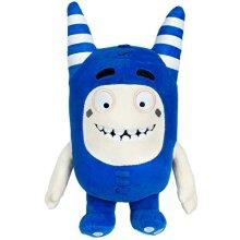 ODDBODS Pogo Soft Stuffed Plush Toys for Boys and Girls Blue 12 Tall
