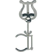 Gewa 730480 1 Pusher, Lyra Small Music Stand for Clarinet with Side Clamp