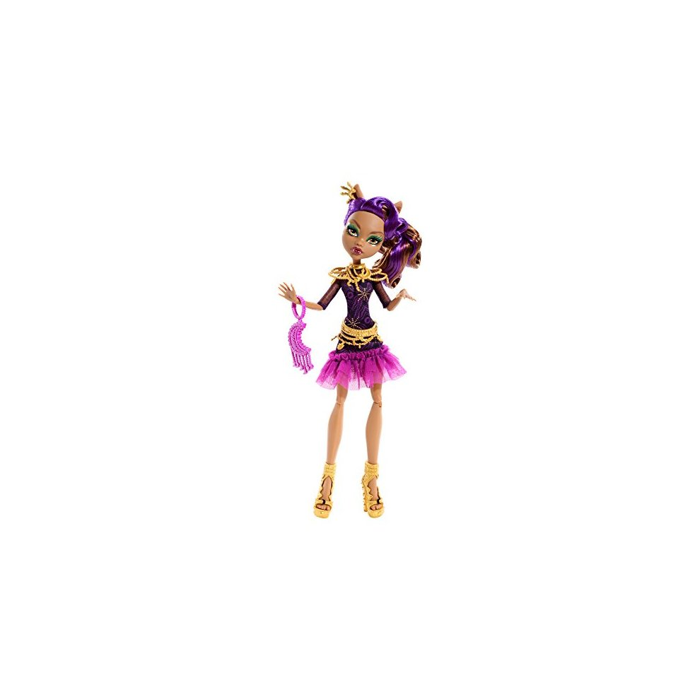 MONSTER HIGH ~ Clawdeen Wolf Frights Camera Action Doll