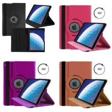 Case For Apple iPad 10.2in 2020 8th Generation PU Leather 360 Degree Rotating Cover