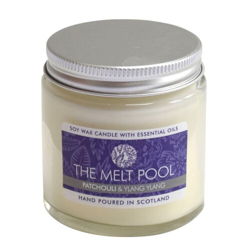Small Jar Patchouli & Ylang Ylang Candle by The Melt Pool