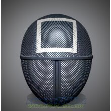 modifix_co_uk Squid Game Mask Square Guard Mask Face Mask Soldier