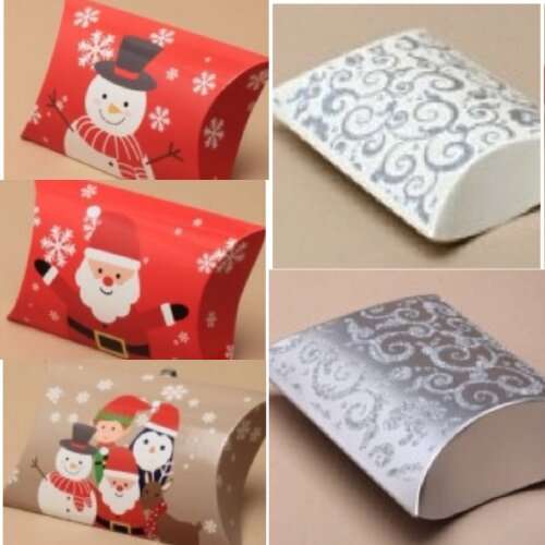 Christmas Gift Box Pillow Pack Bag Present Wrapping Gift Wrap