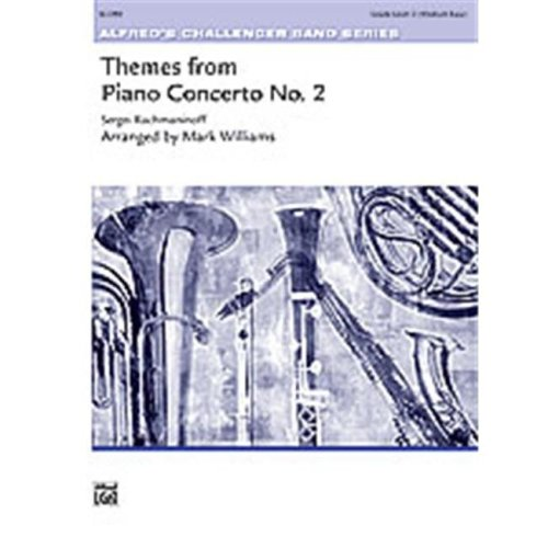Alfred 00-29449 THEME FR PIANO CONCRTO NO2-CH SET4D